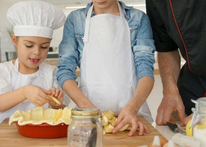 Curso de cocina para padres e hijos