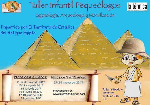 Taller infantil Pequeólogos