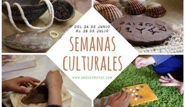 Semanas culturales en verano para niños