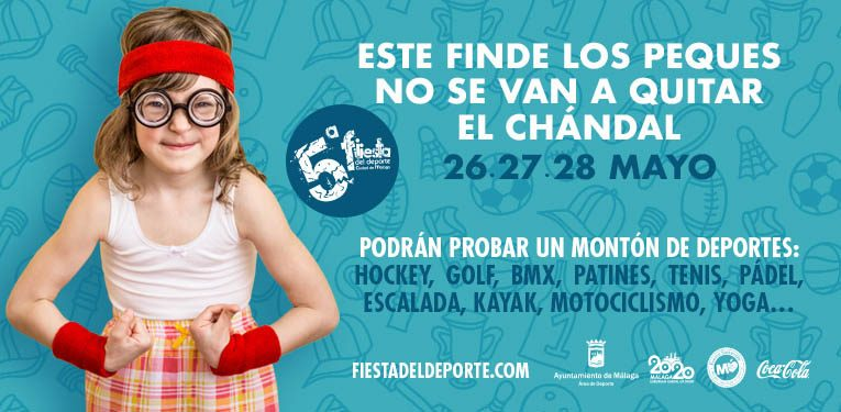 Fiesta del Deporte en Málaga