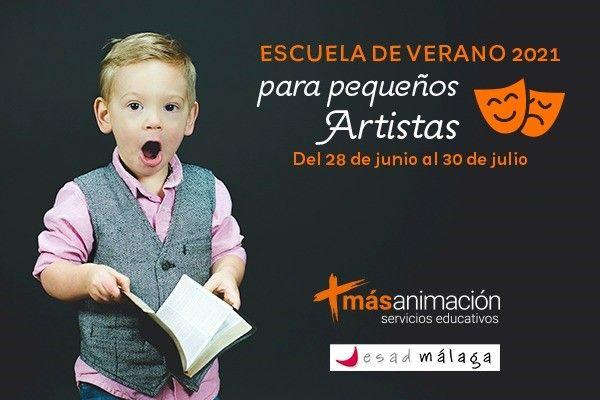 Escuela de verano para pequeños grandes artistas: Más Animación