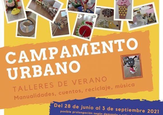 Campamento urbano de verano para niños en el Rincón: JuegArte
