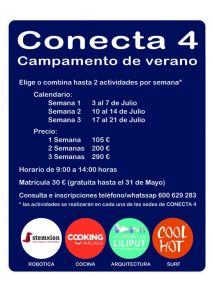 Campamento de verano en Málaga