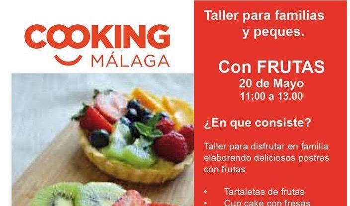 Taller para familias en Cooking Málaga