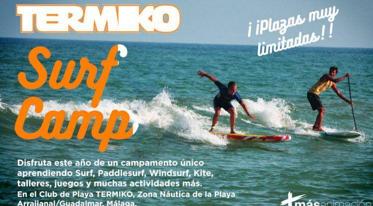 Termiko Surf Camp: actividades deportivas para niños y jóvenes en la playa de Guadalmar (Málaga)