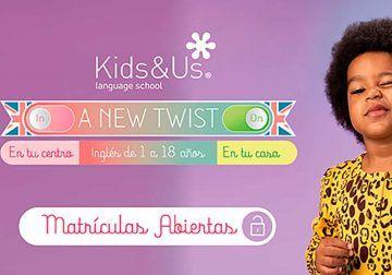 Clases de inglés para bebés, niños y adolescentes: abierto el plazo para nuevas matrículas en las escuelas de Kids&Us Málaga y Torremolinos