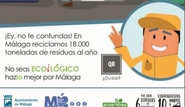 Campaña de reciclaje Málaga