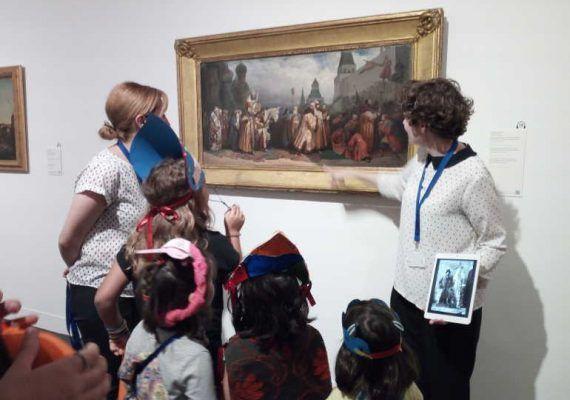 Talleres de verano gratis Museo Ruso Málaga
