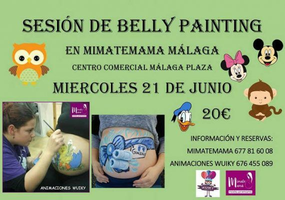 Belly painting Mimatemamá