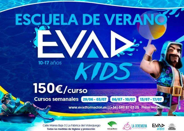 Vuelve la escuela de verano sobre videojuegos de EVAD en Málaga