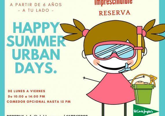 Campamento de verano para niños con Club Happy Málaga: Summer Urban Days
