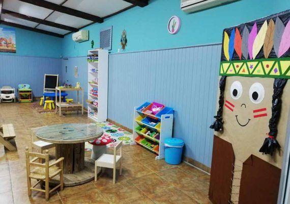 Campamento de verano para niños en la ludoteca Meraki del barrio de La Paz (Málaga)