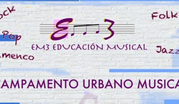 Campamento urbano musical