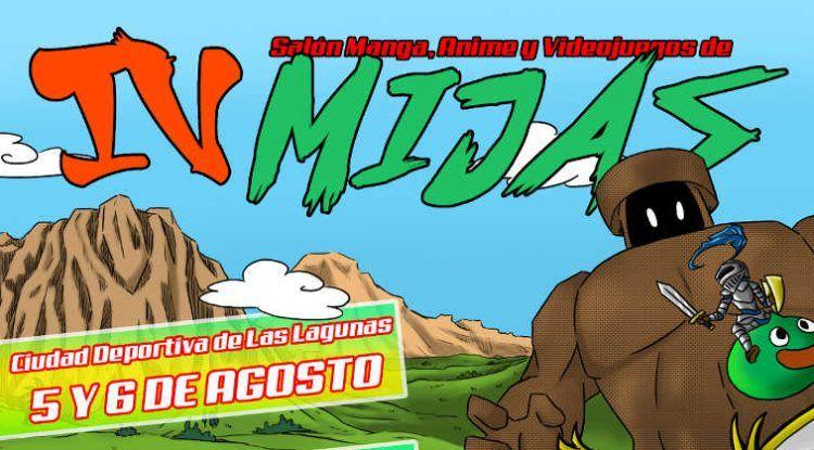 Cartel salon manga Mijas