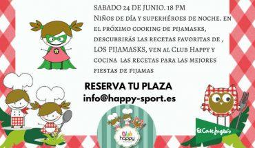 taller de cocina Club Happy