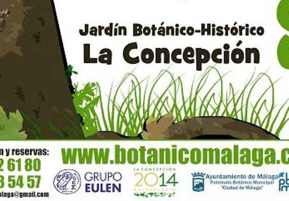 Cumpleaños Jardín Botánico la Concepción Málaga