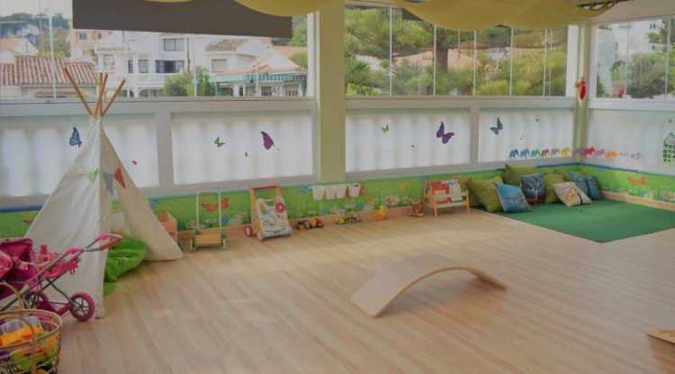Escuela infantil inglesa Green tree – English nursery Green tree, en Miraflores del Palo (Málaga)
