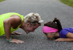 Madre e hija deporte