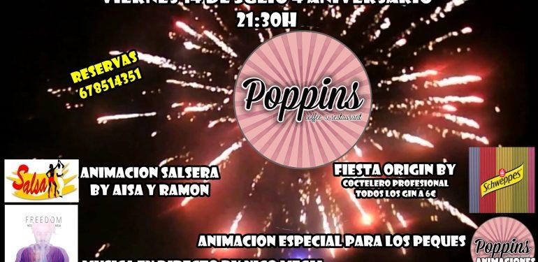 Aniversario Poppins Alhaurin de la Torre