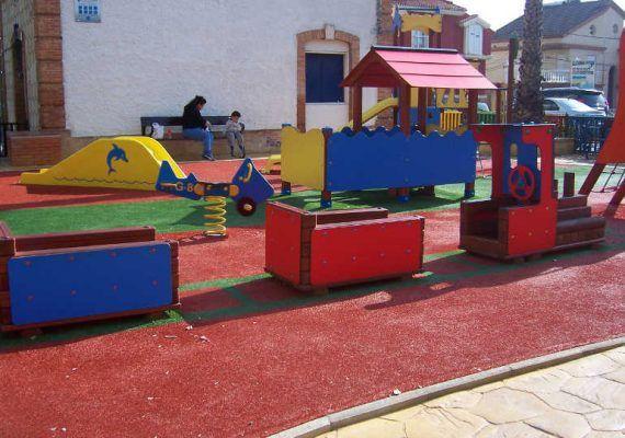 Parque plaza Carrascón zona Este