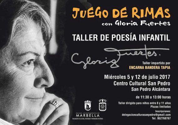 Taller de poesía Gloria Fuertes