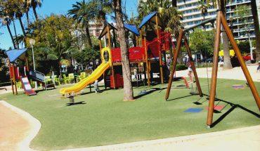 Parque infantil paseo del parque