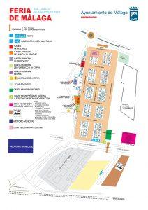 Plano Real Feria Málaga