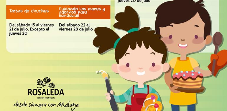 Talleres infantiles CC Rosaleda