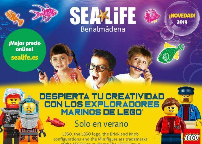 Lego llega a Sea Life Benalmádena este verano con actividades para niños
