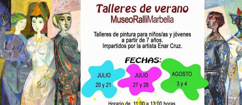 Taller de pintura Museo Ralli