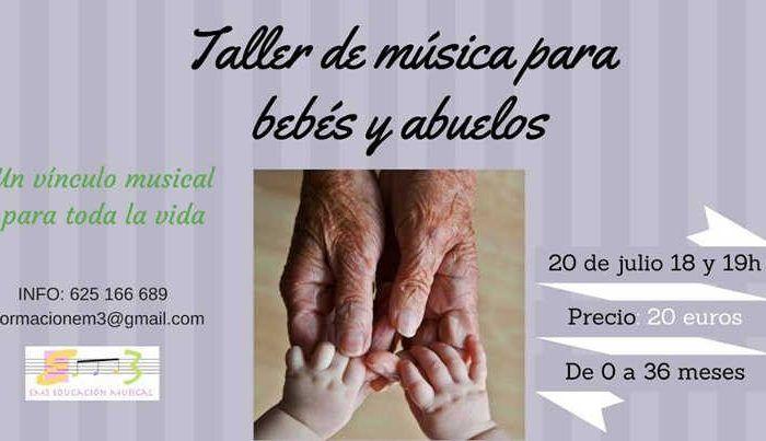 Taller musical bebés y abuelos