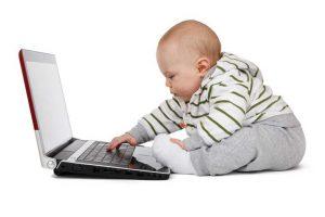 bebé ordenador