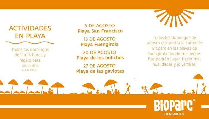 Talleres Y Juegos Gratis Para Ninos En Las Playas De Fuengirola Con