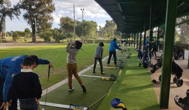 Escuela infantil de golf en Málaga