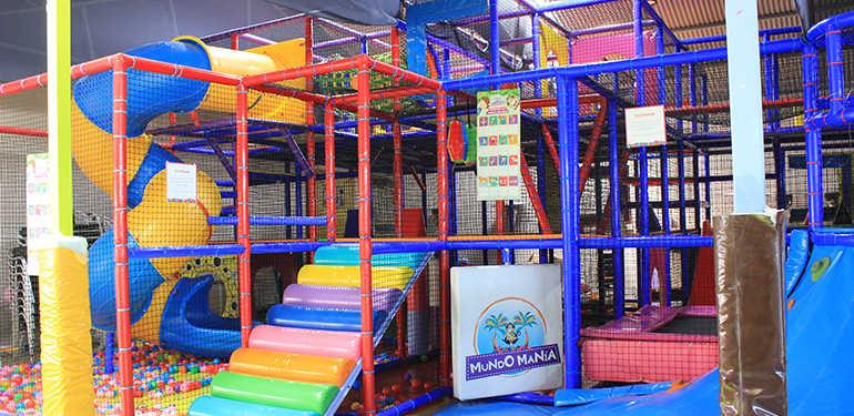 Mundo Manía. Parque infantil