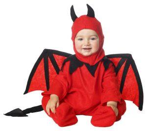 Disfraz de diablo bebé