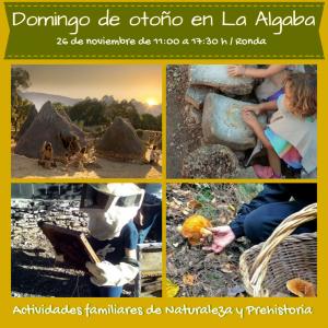 Día de otoño en La algaba