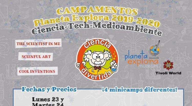 Campamento de Navidad para niños con Ciencia Divertida en Benalmádena