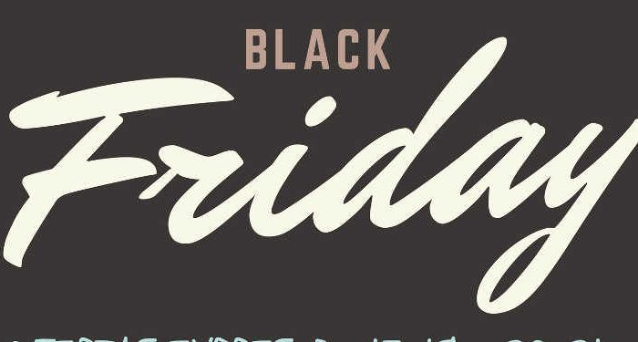 Club Happy Black Friday