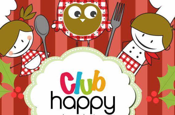 Club Happy taller de cocina para niños