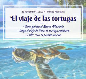 viaje de las tortugas