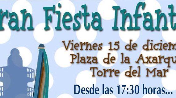 Fiesta infantil Torre del Mar Navidad