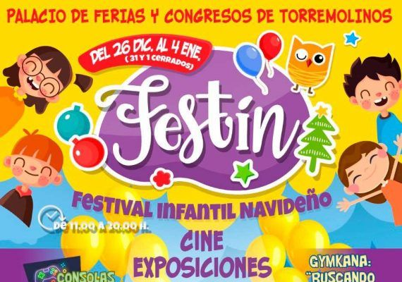 FESTin: Festival navideño infantil con La Máquina Imaginaria en Torremolinos