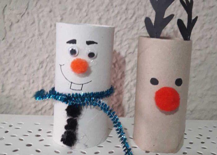 Manualidades Para Ninos De 3 Anos De Navidad.Recicla En Navidad Manualidad Con Ninos Actividades Para