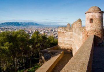 Visita virtual gratis con niños a la Alcazaba y Gibralfaro de Málaga