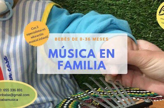 sesiones musicales bebe