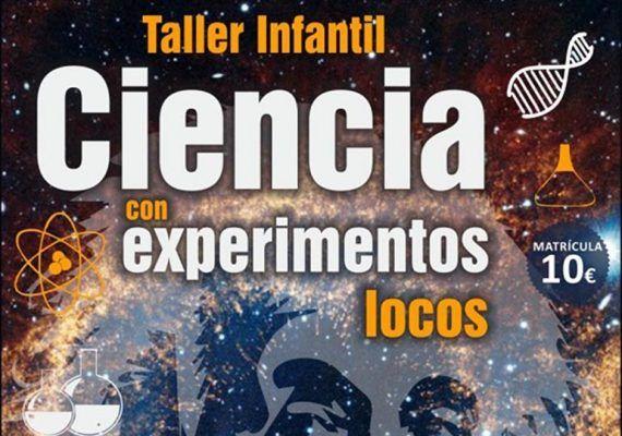 Taller de Ciencia infantil en Estepona