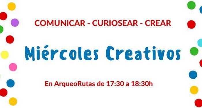 Miércoles creativos Arqueorutas. Talleres para niños Málaga