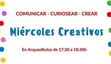 Miércoles creativos Arqueorutas
