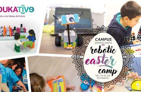 Campamento de Semana Santa de robótica infantil